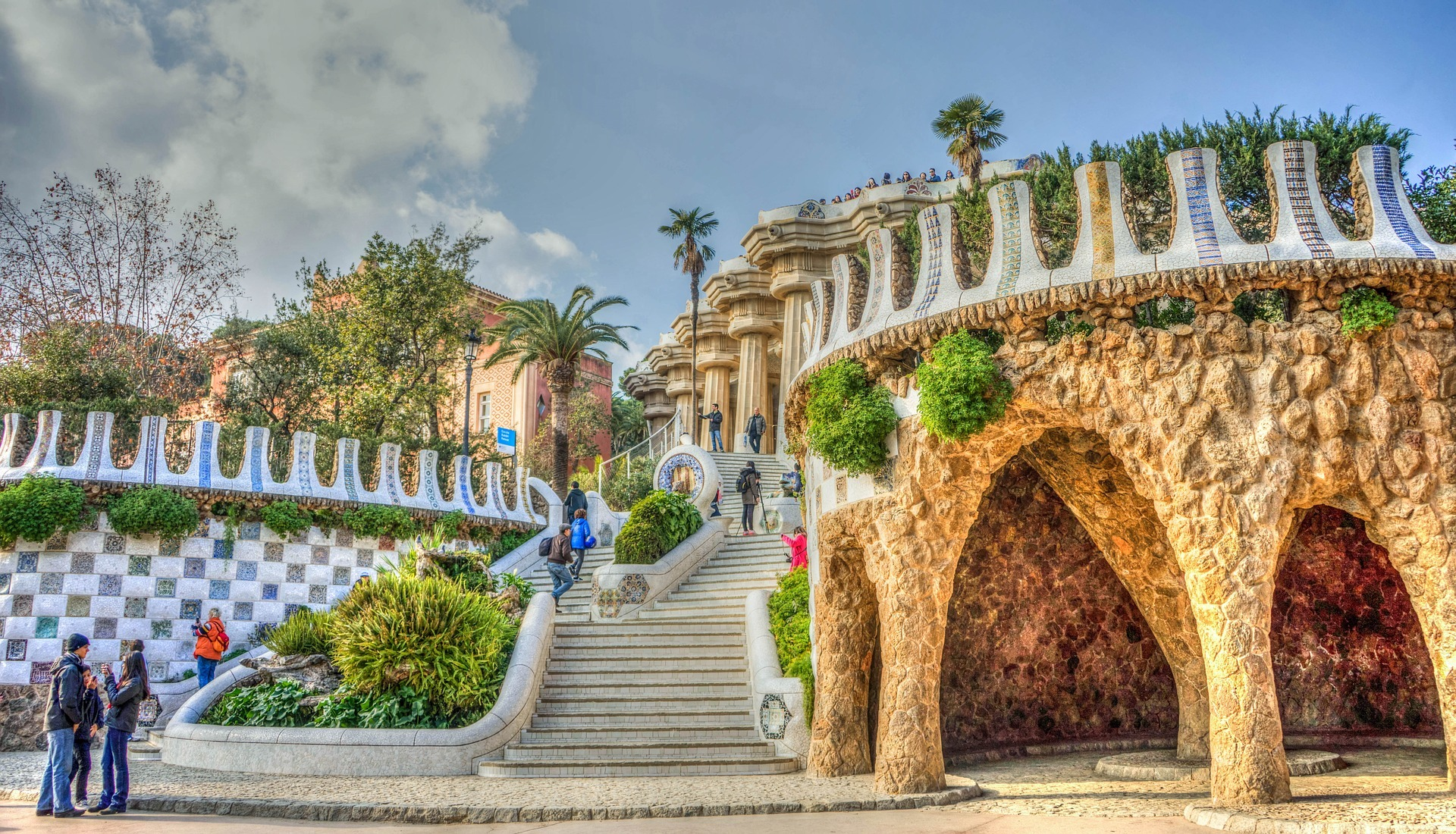 parc_guell_gaudi_barcelone_espagne_voyager_moins_cher